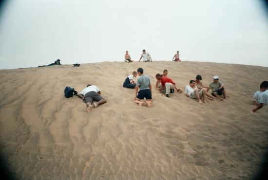 sur les dunes de BOUDIB