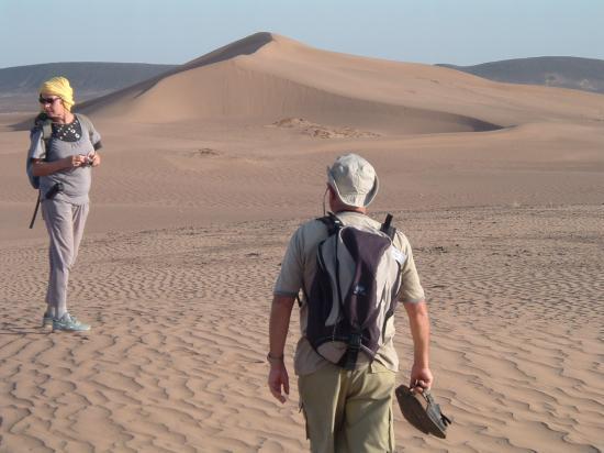 Dans une balade aux dunes de Boudib( suite) !