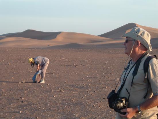 Pour aller aux dunes et revenir est un sport amusant !