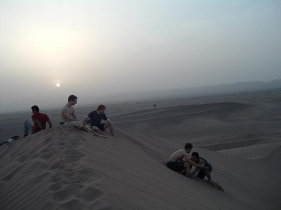 2° coucher de solei sur les dunes de Boudib !