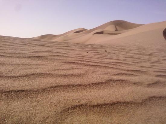 des dunes naissent à Boudib !!